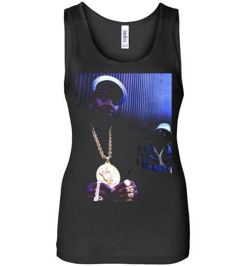 Eric B & Rakim New York Classic Hip Hop Rap , v3, Bella Wide Strap Tank