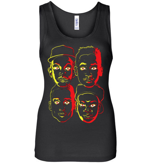 ATCQ A Tribe called Quest Classic Hip Hop New York City Low End Theory Phife Dawg Q-tip , v3, Bella Wide Strap Tank