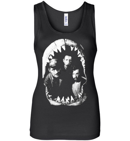 JAWS Movie Rare Vintage Style , Bella Wide Strap Tank