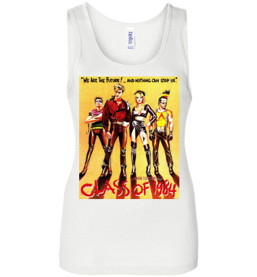 Class of 1984 action crime thriller movie v1, Bella Wide Strap Tank