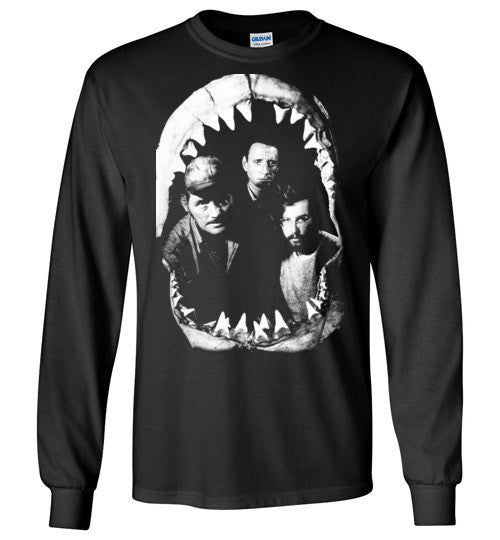 JAWS Movie Rare Vintage Style , Gildan Long Sleeve T-Shirt
