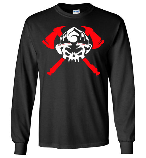 Firefighter v1, Gildan Long Sleeve T-Shirt