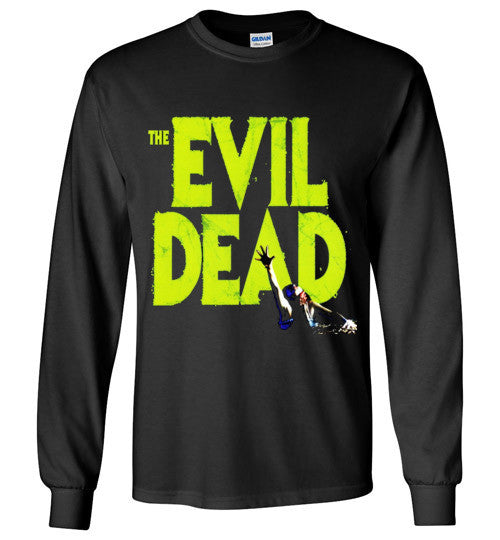 Evil Dead Army Of Darkness Horror Zombies Movie v1, Gildan Long Sleeve T-Shirt