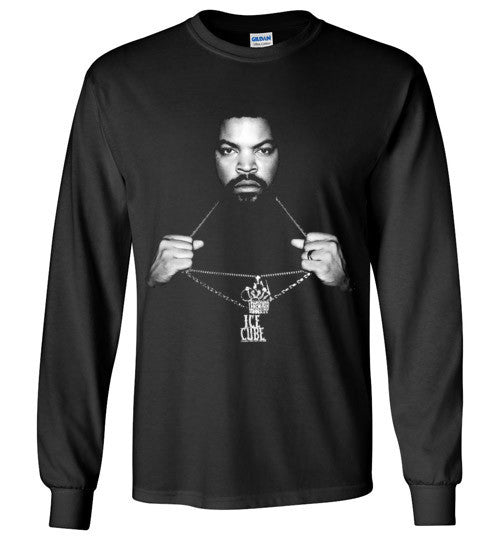 Ice Cube Hip Hop v1 , Gildan Long Sleeve T-Shirt