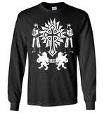 Knights Templar Deus Vult 1119,v31,Long Sleeve T-Shirt