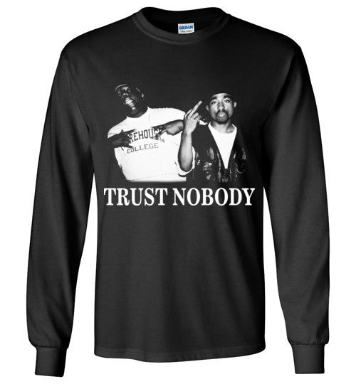 Tupac 2pac Shakur Makaveli Biggie Death Row hiphop gangsta Swag Dope , v13, Gildan Long Sleeve T-Shirt
