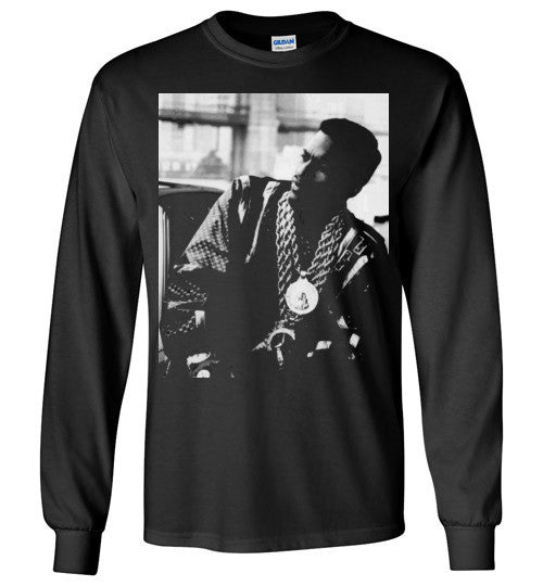 Eric B & Rakim New York Classic Hip Hop Rap , v2, Gildan Long Sleeve T-Shirt