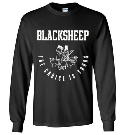 Black Sheep The Choice Is Yours Classic Hip Hop , Gildan Long Sleeve T-Shirt