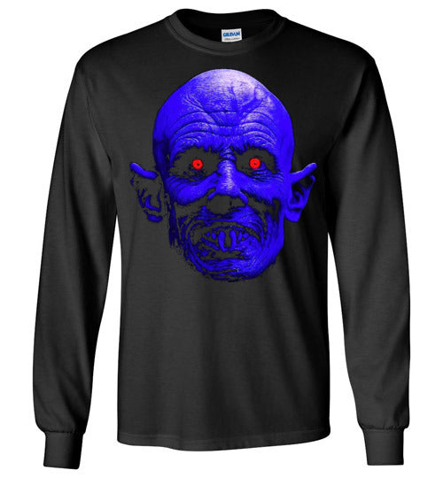 Salem's Lot Salem Face Stephen King Vampire Classic Horror Movie ,v3, Gildan Long Sleeve T-Shirt