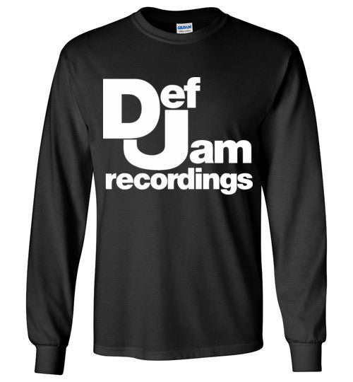 Def Jam Recordings Classic Hip Hop , Gildan Long Sleeve T-Shirt
