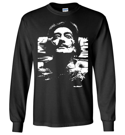 Salvador Dali in the water,Long Sleeve T-Shirt