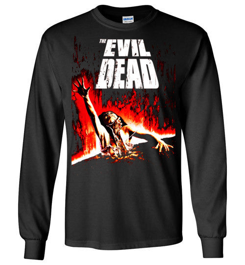Evil Dead Army Of Darkness Horror Zombies Movie ,v2, Gildan Long Sleeve T-Shirt