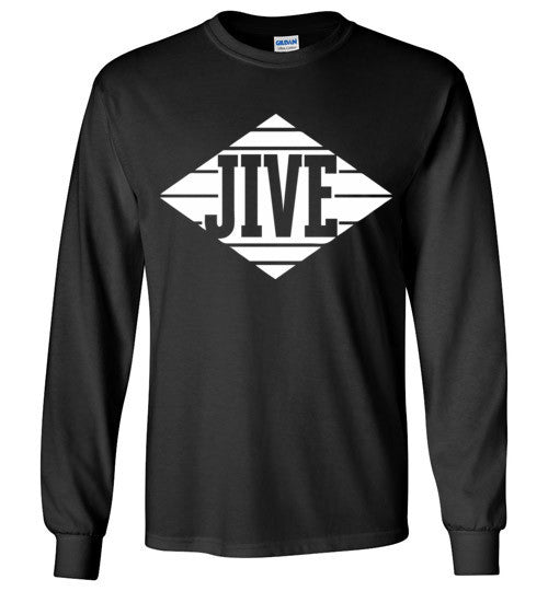 Jive Records Classic Hip Hop , Gildan Long Sleeve T-Shirt