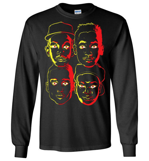 ATCQ A Tribe called Quest Classic Hip Hop New York City Low End Theory Phife Dawg Q-tip , v3, Gildan Long Sleeve T-Shirt