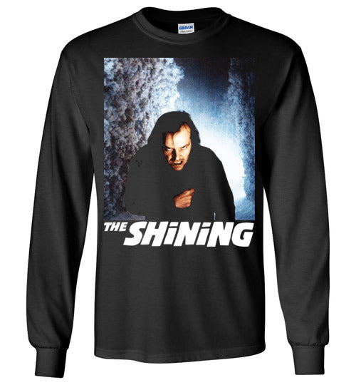 The Shining , Horror Film , Stanley Kubrick , Stephen King ,Jack Nicholson, Overlook Hotel,v7,Gildan Long Sleeve T-Shirt