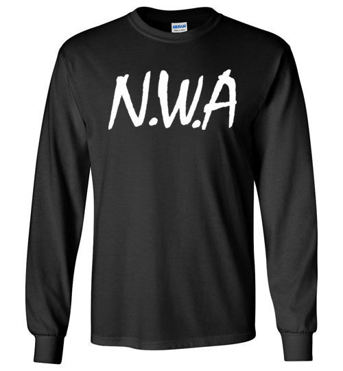 NWA Ice Cube Dr Dre Eazy E DJ Yella MC Ren v4 , Gildan Long Sleeve T-Shirt