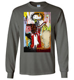Basquiat Streetart,v14,Long Sleeve T-Shirt