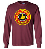 Bultaco Motorcycle Vintage Retro Motorcross Style , Gildan Long Sleeve T-Shirt