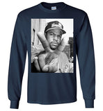 Ice Cube Hip Hop NWA , Gildan Long Sleeve T-Shirt