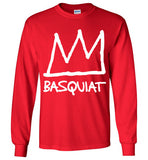 Jean Michel Basquiat 8 , Gildan Long Sleeve T-Shirt