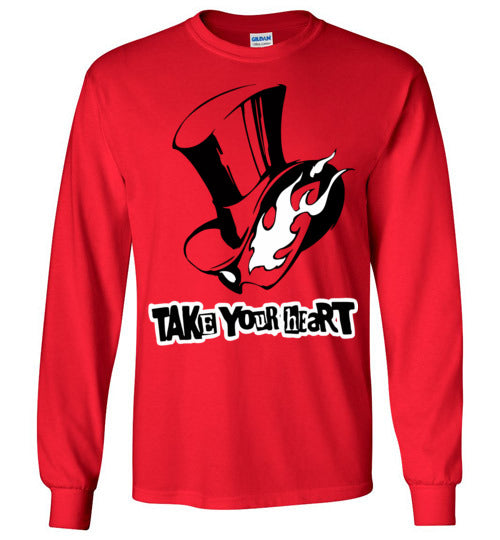 Persona 5 Phantom Thieves of Hearts ,v2, Gildan Long Sleeve T-Shirt