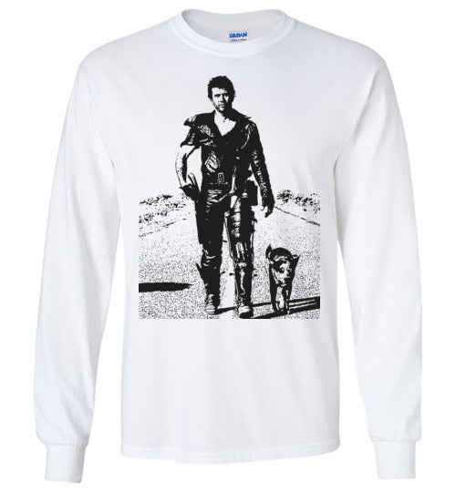 Mad Max Mel Gibson Road Warrior Movie ,v2, Gildan Long Sleeve T-Shirt