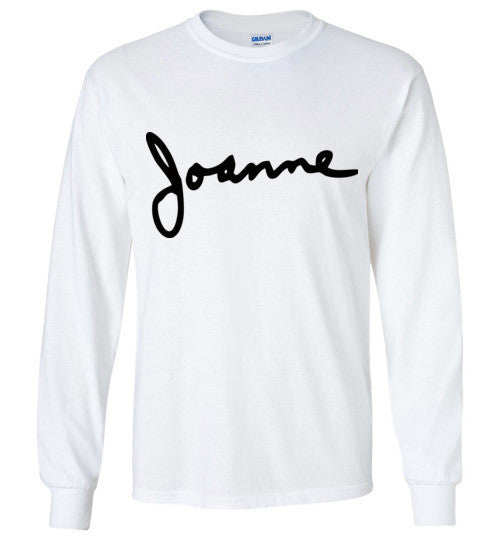 Joanne Lady Gaga , Gildan Long Sleeve T-Shirt
