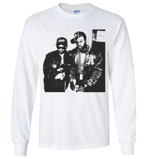 Eazy-E & Too Short Ruthless Records Eazy E Gangster Rap West Coast Hip Hop , v12, Gildan Long Sleeve T-Shirt