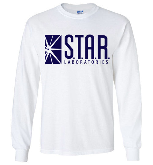 Star Laboratories , Star Labs , The Flash , v2, Gildan Long Sleeve T-Shirt