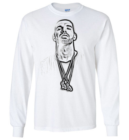 DRAKE , Degrassi, Views, OVO, Papi, Toronto Raptors,YOLO,Boy Meets World Tour,Hip Hop, R&B, v6, Gildan Long Sleeve T-Shirt