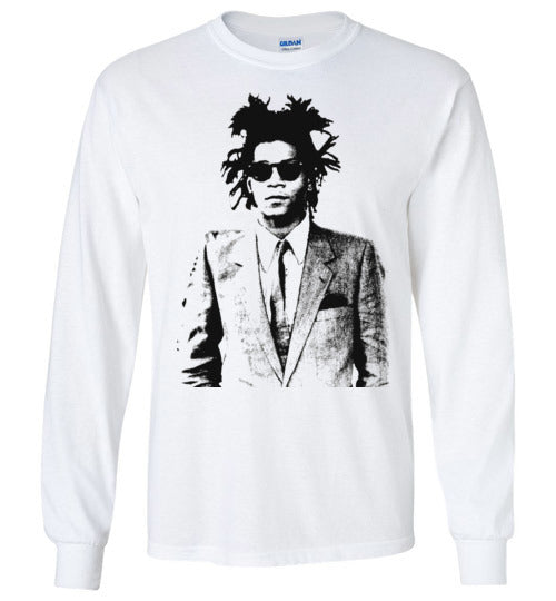 Basquiat Streetart,v25,Long Sleeve T-Shirt