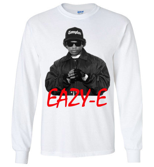 Eazy-E NWA Ruthless Records Eazy E Gangster Rap Hip Hop, v1, Gildan Long Sleeve T-Shirt