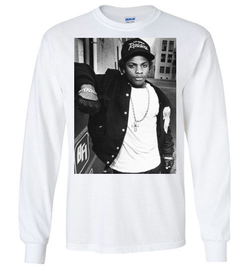 Eazy-E NWA Ruthless Records Eazy E Gangster Rap Hip Hop , v6, Gildan Long Sleeve T-Shirt