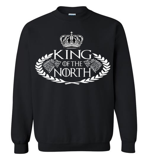King Of The North, Game of thrones , v2, King Of The North, Game of thrones , v2, Gildan Heavy Blend Hoodie