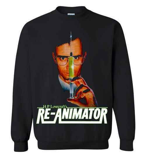 Re-animator H. P. Lovecraft , Gildan Crewneck Sweatshirt , v3