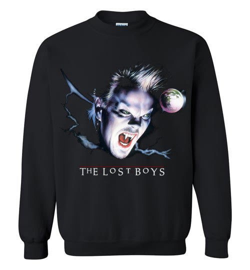 The Lost Boys Vampires Movie , 2 , Gildan Crewneck Sweatshirt