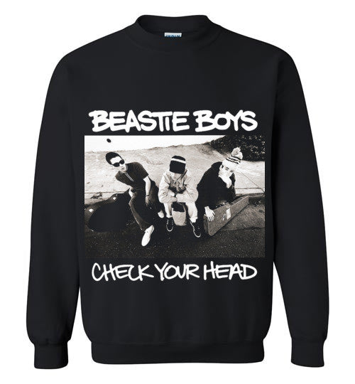 Beastie Boys Check Your Head , Gildan Crewneck Sweatshirt