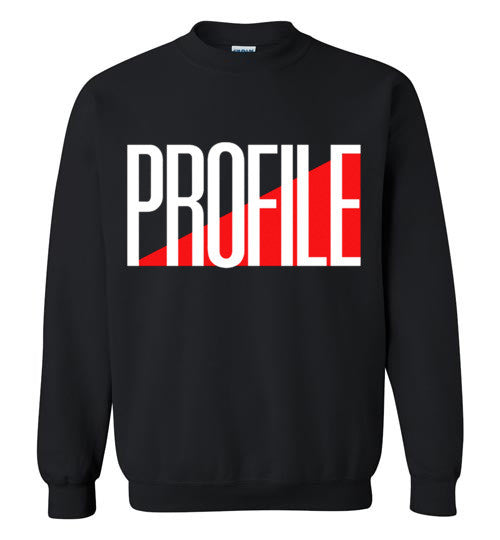 PROFILE Records Classic Hip Hop , Gildan Crewneck Sweatshirt