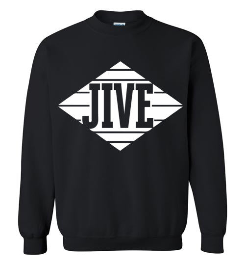 Jive Records Classic Hip Hop , Gildan Crewneck Sweatshirt