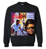 NWA 100 Miles And Runnin' Dr Dre Eazy E Yella MC Ren v6, Gildan Crewneck Sweatshirt