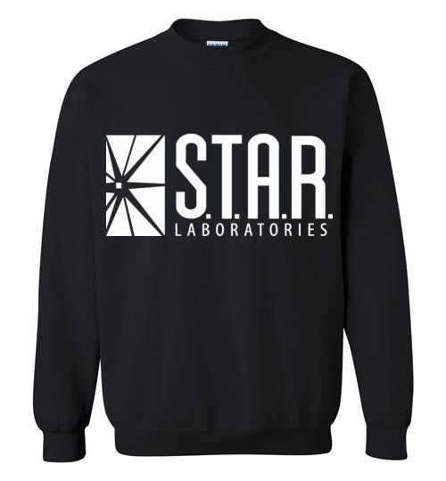 Star Laboratories , Star Labs , The Flash , Gildan Crewneck Sweatshirt