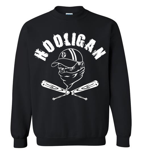 Hooligan , Gildan Crewneck Sweatshirt