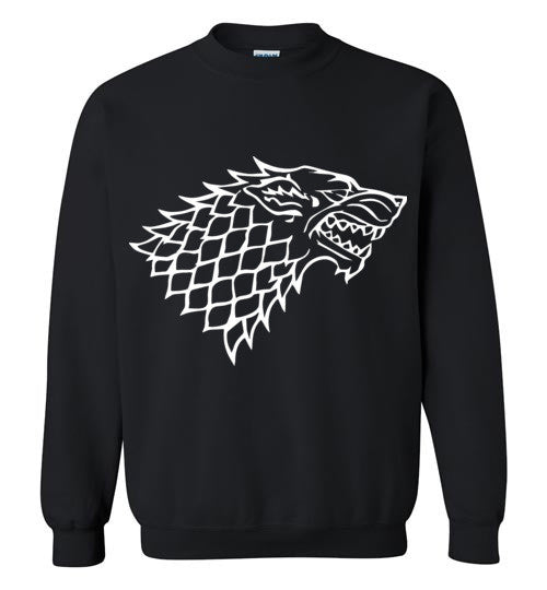 House Stark , Game Of Thrones , Gildan Crewneck Sweatshirt