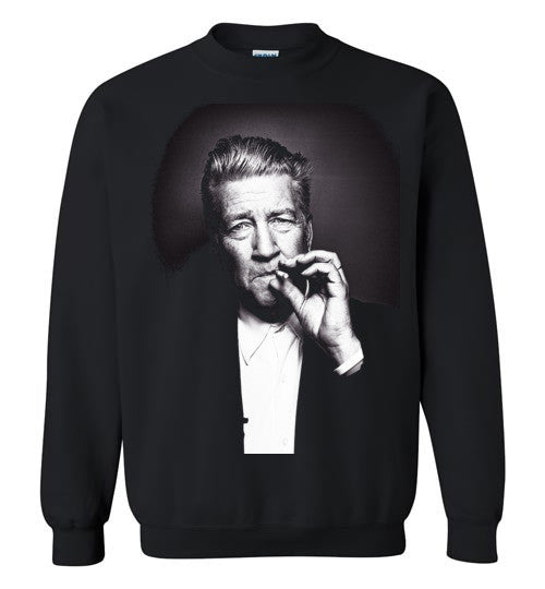 David Lynch v2 , Gildan Crewneck Sweatshirt