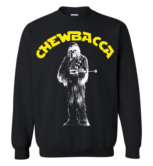 Chewbacca Star Wars , Gildan Crewneck Sweatshirt