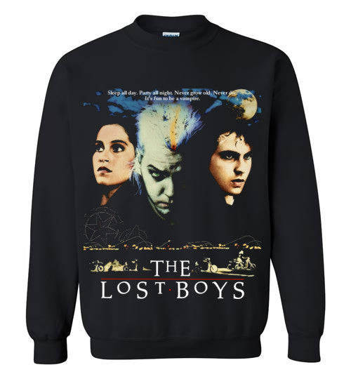 The Lost Boys Vampires Horror Movie , 3 , Gildan Crewneck Sweatshirt