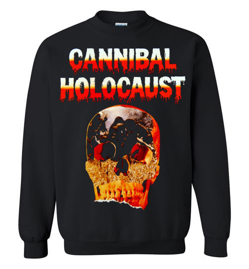 Cannibal Holocaust Ruggero Deodato Horror Zombies Movie ,v5, Gildan Crewneck Sweatshirt