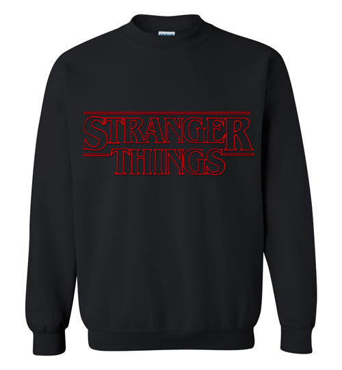 Stranger Things Tv Show,Sci Fi, Netflix Series , v1 , Gildan Crewneck Sweatshirt