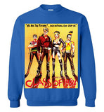 Class of 1984 action crime thriller movie v1, Gildan Crewneck Sweatshirt