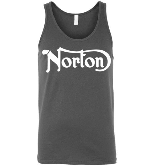 Norton Motorcycles,Vintage Bikes,Classic British Motorcycles,Norton Commando,Norton Manx,Norton Dominator,Canvas Unisex Tank